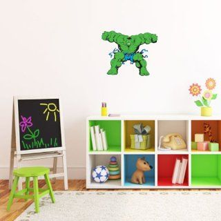 "Incredible Hulk Wall Graphic Decal Sticker 25"" x 20""   Wall Decor Stickers"