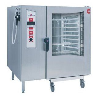 Liquid Propane Cleveland Convotherm OGS 12.20 Roll In Gas Fired Boilerless Combi Oven Steamer with T  Freestanding Grills  Patio, Lawn & Garden