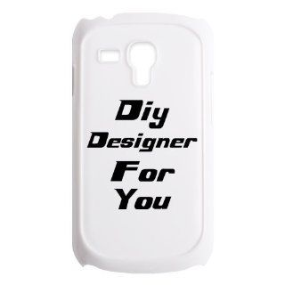 Custom Personalized Phone Case, Design Your Own Photo On The Case By Emailing Us Send Your Like Image, Bioshock Infinite Samsung Galaxy S3 Mini I8190 Hard Plastic Case Black/White Cell Phones & Accessories