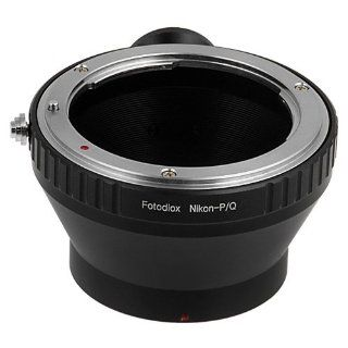 Fotodiox Lens Mount Adapter, Nikon, Nikkor Lens to Pentax Q Series Camera, fits Pentax Q Mirrorless Cameras  Camera & Photo
