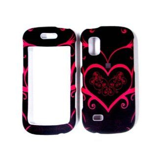 Cuffu   Black Princess Heart   Samsung Solstice A887 Case Cover + Screen Protector Perfect for Sprint / AT&T / Nextel / Tmobile / Verizon Makes Top of the Fashion In Only One LOWEST Shipping Rate $2.98   Goes With Everyday Style And Apparel Everything
