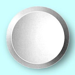 Bevelled 6 Inch Round Mirror makes A Great Base For Display Or As A Craft Accessory (Pkg/6)   Wall Mounted Mirrors