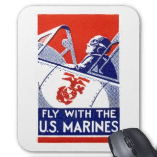 WWII Marine Corps Aviation Mouse Pads