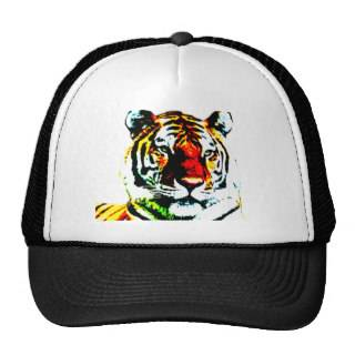 Tiger Trucker Hats