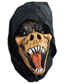 Scary Masks Gator Mask Halloween Costume   Most Adults Clothing