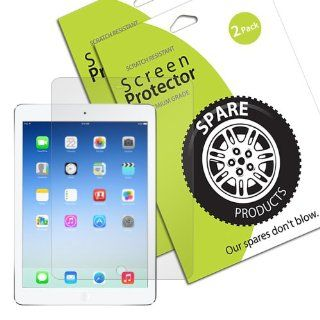 Spare Products Screen Protector Film for iPad Air   (2 Pack) Anti Glare/Anti Fingerprint Computers & Accessories