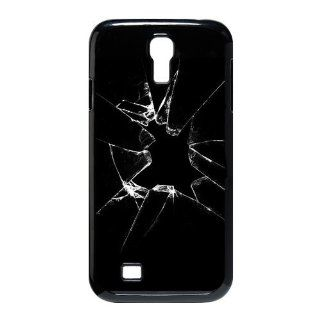 Broken Glass Samsung Galaxy S4 Case for SamSung Galaxy S4 I9500 Cell Phones & Accessories