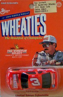 The Winston Select Dale Earnhardt #3 1997 Monte Carlo Wheaties Limited Edition 164 Scale Stock Car Toys & Games