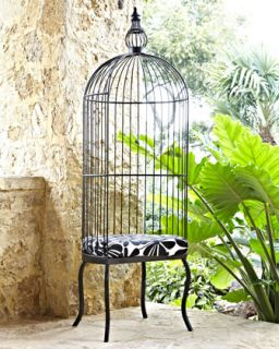 Indoor/Outdoor Birdcage Chair