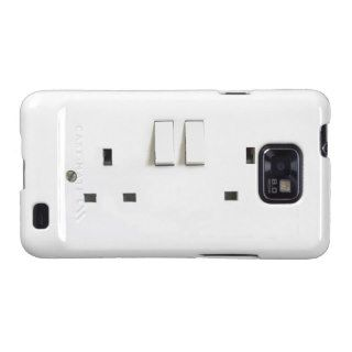 UK electric socket design Samsung Galaxy Cases
