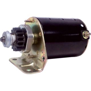 Electric Replacement Starter   Briggs & Stratton Single Cylinder Engine by