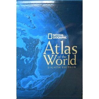 National Geographic Atlas of the World, Eighth Edition 9780792275435 Reference Books @
