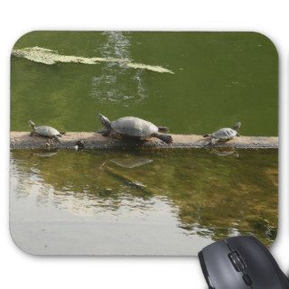 red ear sliders mouse pad