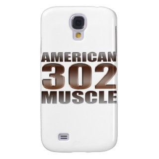 american muscle 302 samsung galaxy s4 case