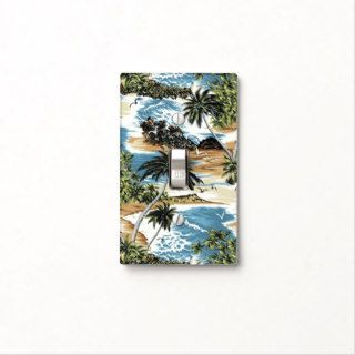 Diamond Head Scenic Hawaiian Light Switch Cover
