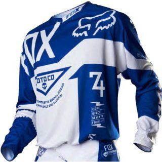 Fox Racing 360 Machina A1 LE Men's MotoX/Off Road/Dirt Bike Motorcycle Jersey   Blue / Large Automotive
