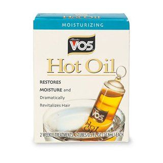 Alberto VO5 Moisturizing Hot Oil Treatment, 0.5 Ounce, 2 Count Tubes (Pack of 6)  Hair And Scalp Treatments  Beauty
