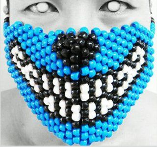 Original Mask From Kandigear   Big Bad Wolf Kandi Mask, Rave Wear, Gear Costume, Plur, EDC   Often Imitated Never Duplicated, Only From Kandigear