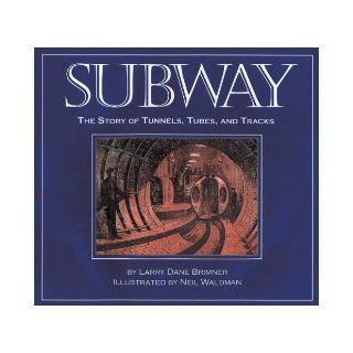 Subway The Story of Tunnels, Tubes, and Tracks Larry Dane Brimner, Neil Waldman 9781590781760 Books
