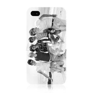 Ecell   ONE DIRECTION 1D BRITISH BOY BAND SNAP ON BACK CASE COVER FOR APPLE IPHONE 4 4S Cell Phones & Accessories