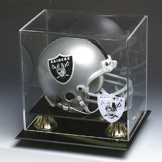 Oakland Raiders NFL Full Size Football Helmet Display Case