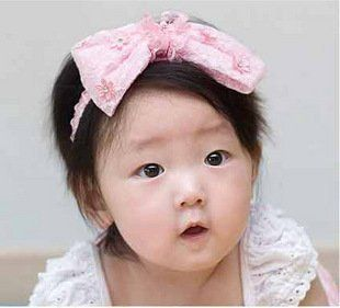 Lovely Cute Baby Head Band Very Soft and Comfortable for 3 36M Baby Girl Pink or White  Other Products