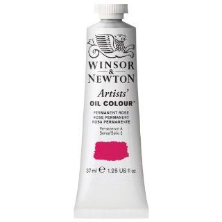 Winsor & Newton Artists Oil Color Paint Tube, 37ml, Permanent Rose