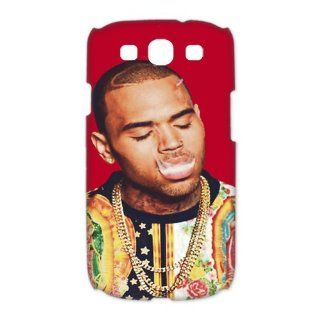 Custom Your Own Personalized Pop Singer Star Chris Brown SamSung Galaxy S3 I9300 Case 3D Snap on Hard Case Cover Computers & Accessories