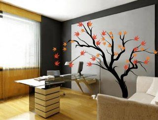 Large  Easy instant decoration wall sticker wall mural tree beautful tree decal   Home Decor Products