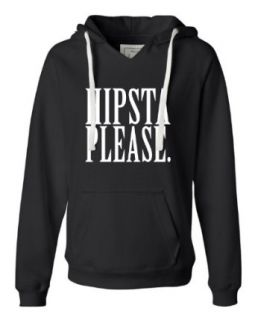 Womens Hipsta Please Hipster Please Deluxe Soft Fashion Hooded Sweatshirt Hoodie Clothing
