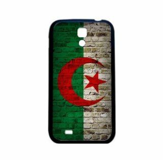 Algeria Brick Wall Flag Samsung Galaxy S4 Black Silcone Case   Provides Great Protection Cell Phones & Accessories