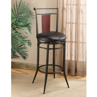 Embassy Non swivel Counter Stool   Set Of 2   Barstools With Backs