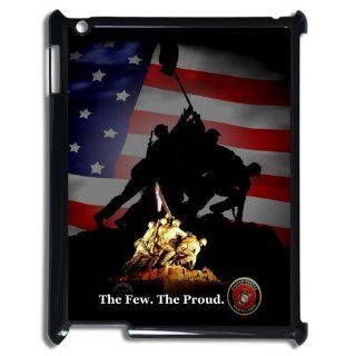 Personalized USMC Marine Corps The Few.The Proud Ipad 2/3/4 Hard Plastic Back Wearproof And Sleek Case Cover Cell Phones & Accessories