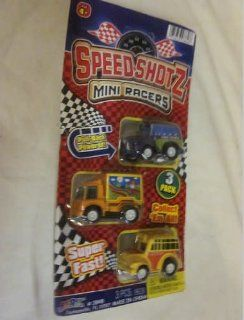 Ja ru Speed Shotz Mini Racers Pull Back Powered Super Fast, Ambulance, Fire Truck, Car Play Fast San Ran Hang Toys & Games