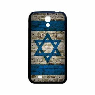 Israel Brick Wall Flag Samsung Galaxy S4 Black Silcone Case   Provides Great Protection Cell Phones & Accessories