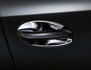 Mercedes Benz Genuine OEM Chrome Door Handle Recess Covers 2010 to 2014 E Class Sedan Automotive