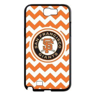 Custom San Francisco Giants Case for Samsung Galaxy Note 2 N7100 IP 22295 Cell Phones & Accessories
