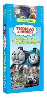 Thomas & Friends Thomas & Really Brave Engine W/Train [VHS] Movies & TV