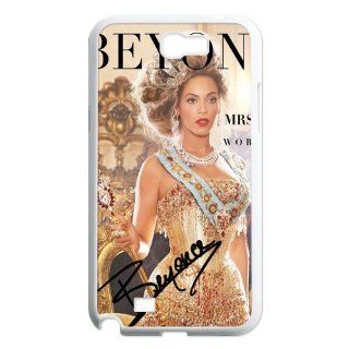 Custom Beyonce Back Cover Case for Samsung Galaxy Note 2 N7100 N416 Cell Phones & Accessories