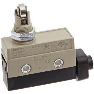 Omron ZC Q2155 Minature Enclosed Limit Switch, Panel Mount Cross Roller Plunger Electronic Component Limit Switches