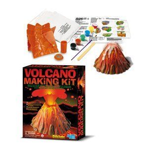 Children's Volcano Science Kit your very own volcano will really erupt with bubbly, fizzy lava. Toys & Games