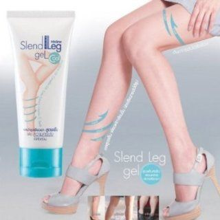 Best Cream Slend Leg Gel Firming & Slimming ,Reduce Cellulite Results in 2 Weeks / 50 G. X 2 Tubes