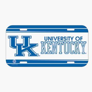 Kentucky Wildcats License Plate  Sports Related Mugs  Sports & Outdoors