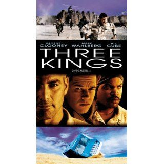 Three Kings (Collector's Edition) [VHS] George Clooney, Mark Wahlberg, Ice Cube, Spike Jonze, Cliff Curtis, Nora Dunn, Jamie Kennedy, Sa�d Taghmaoui, Mykelti Williamson, Holt McCallany, Judy Greer, Christopher Lohr, David O. Russell, Alan Glazer, Bruc