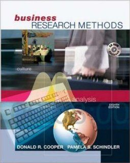 Business Research Methods with Student CD ROM Donald R Cooper, Pamela S. Schindler, Pamela Schindler 9780072819793 Books