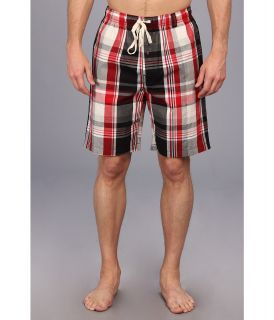 Kenneth Cole Reaction Woven Plaid Sleep Shorts Mens Pajama (Multi)