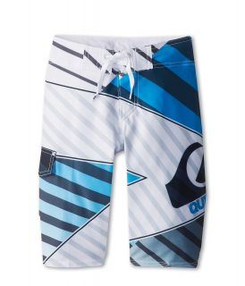 Quiksilver Kids Xiting Boardshort Boys Swimwear (White)