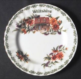 Royal Albert English Country Cottages Bread & Butter Plate, Fine China Dinnerwar