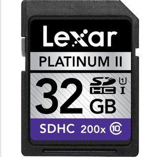 Lexar SDHC 32 GB 100x SDHC Flash Memory Card LSD32GBSBNA100,Camera card 200 x 30 MB/SEC,LEXAR SD cards 32G Computers & Accessories