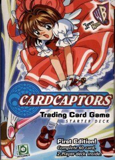 Cardcaptors Trading Card Game   Starter Deck (2 Player Deck   60 cards) (First Edition)   As Seen on Kids WB Toys & Games